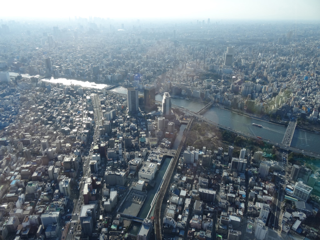 View 1 from Skytree