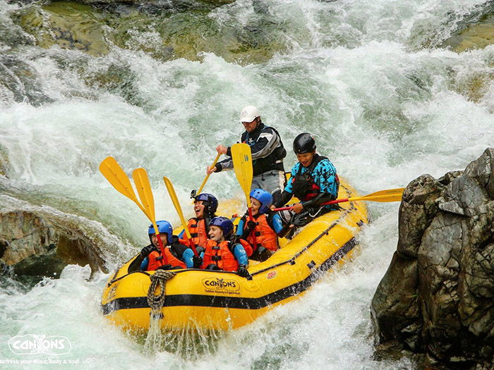 River Rafting in Japan