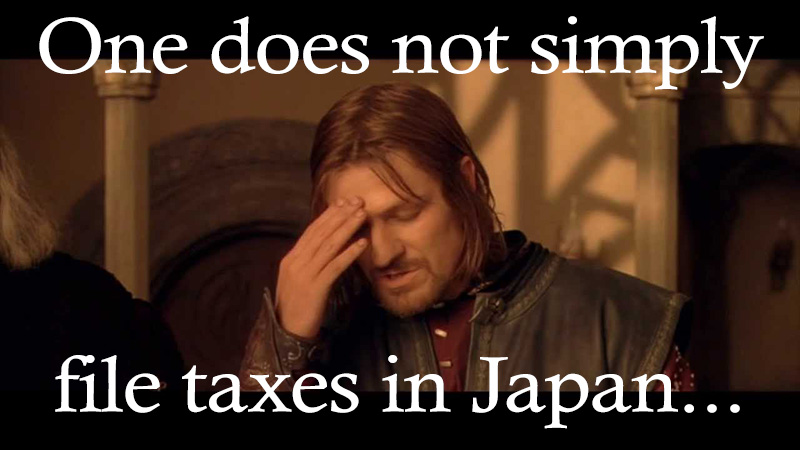 how to do your taxes in japan and save money live work play japan