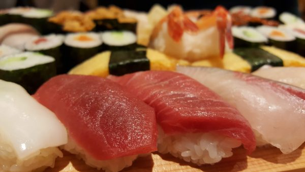 maguro sushi healthy eating japan